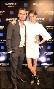 Shailene Woodley et Theo James