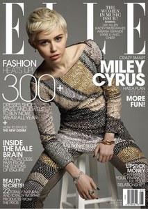 Miley Cyrus en couverture du Elle Magazine