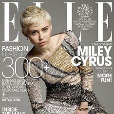 Miley Cyrus : Chic et sobre en couverture du ELLE US