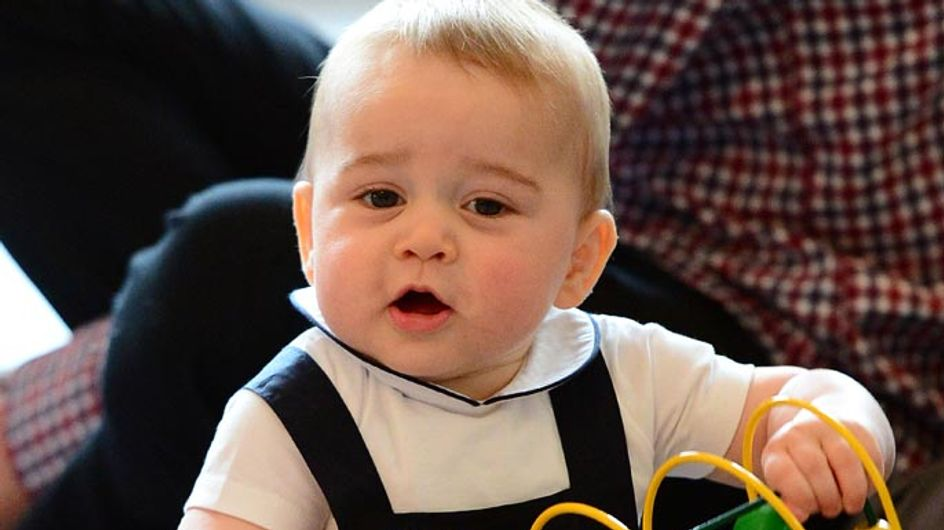 10 Ways Prince George Is Definitely A Royal Baby