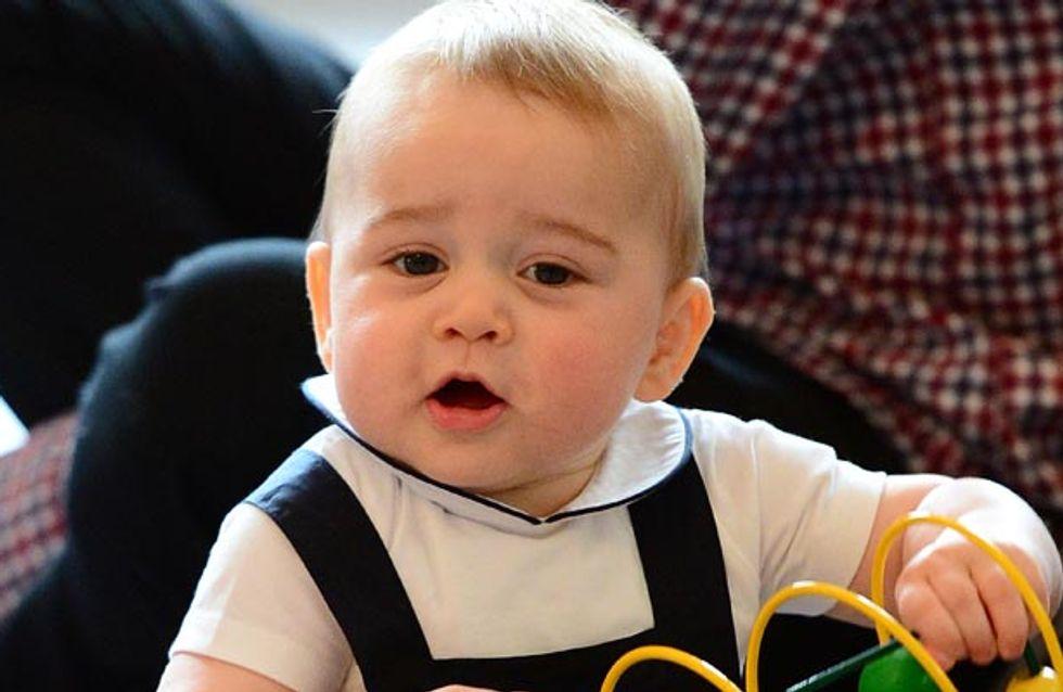 10 Ways Prince George Is Definitely A Royal Baby