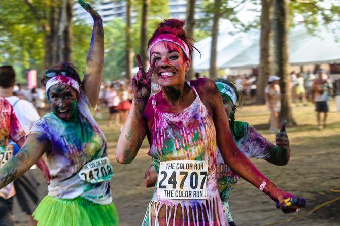 La Color Run débarque à Paris