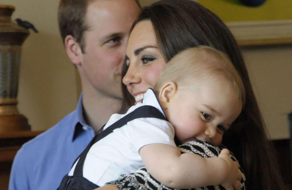 """""""Come ti voglio bene, mamma!"""". Le tenere immagini del piccolo George insieme a Kate Middleton"""