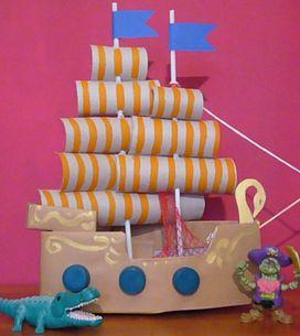 Fai-da-te: come costruire un veliero con i tuoi bambini