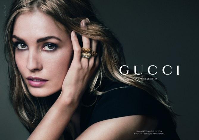 Nadja Bender pour Gucci Joaillerie