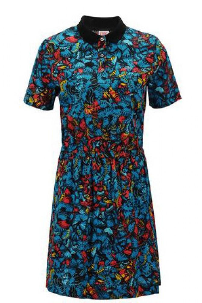 Robe Lacoste Live imprimé papillons - 130 € aux Galeries Lafayettes