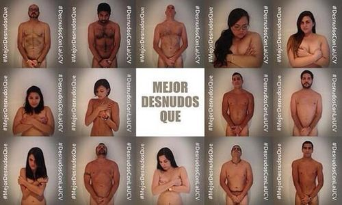 Venezuela : Ils posent nus pour dénoncer les violences