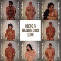 Venezuela : Ils posent nus pour dénoncer la violence policière (photos)