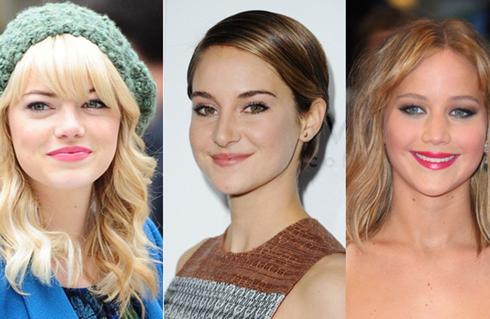 Why We Want These Celeb Girls To Be Our BFFs: Emma Stone, Shailene Woodley And Jennifer Lawrence