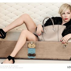 Michelle Williams : Sublime pour la nouvelle campagne Louis Vuitton (photos)
