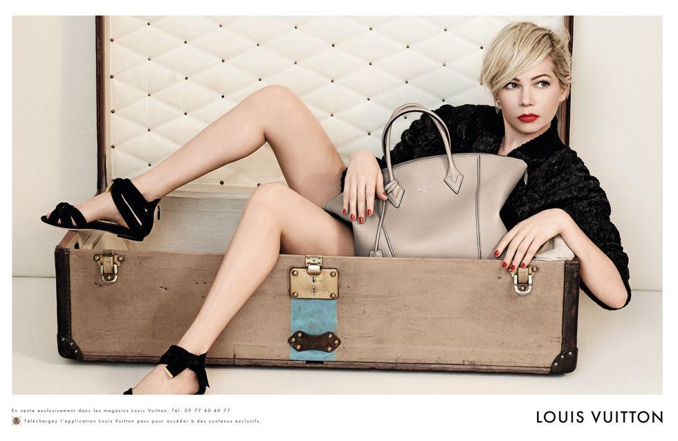Michelle Williams : Sublime pour la nouvelle campagne Louis Vuitton (photos)