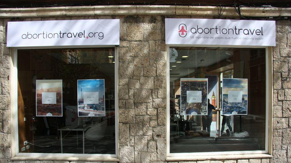 """Nace """"Abortion Travel"""", una agencia de viajes para abortar en el futuro"""