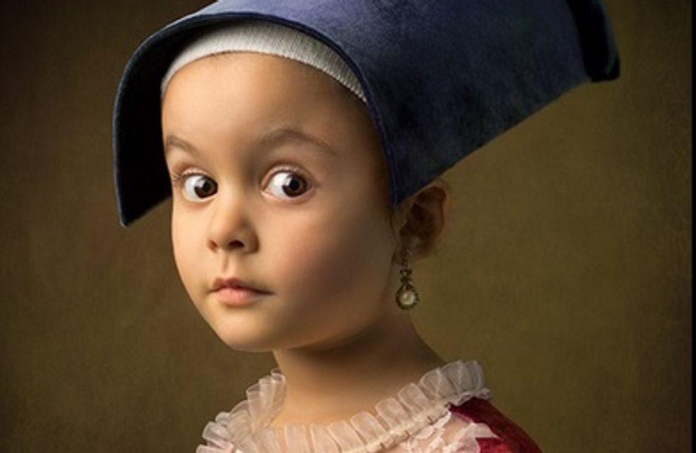 Ce papa reproduit les grands classiques de la peinture avec sa fille de 5 ans