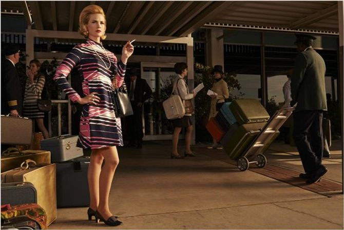 Betty Francis  saison 7 Mad Men