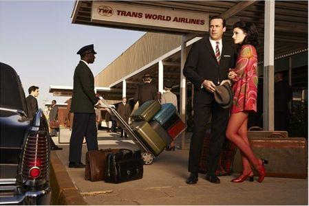 Megan Draper et Don Draper saison 7 Mad Men