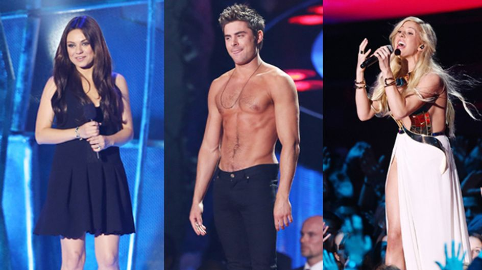 The Best Moments From The MTV Movie Awards 2014