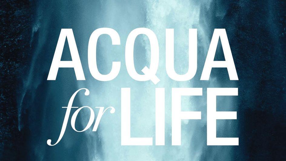 Acqua for Life di Giorgio Armani torna per il 2014