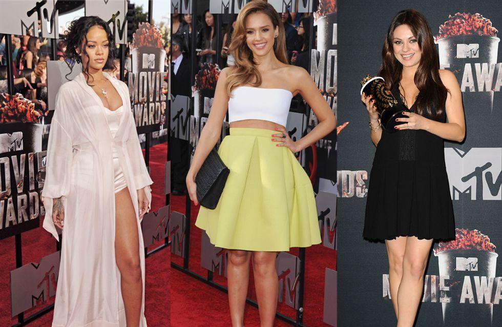 MTV Movie Awards 2014 : Le meilleur et le pire du tapis rouge