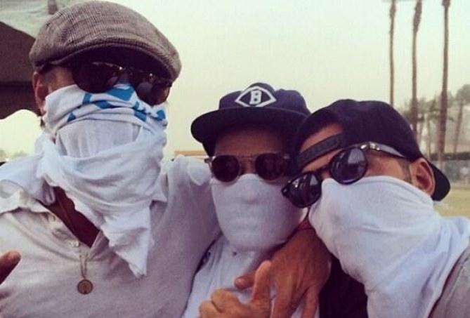 Leonardo DiCaprio à Coachella 2014