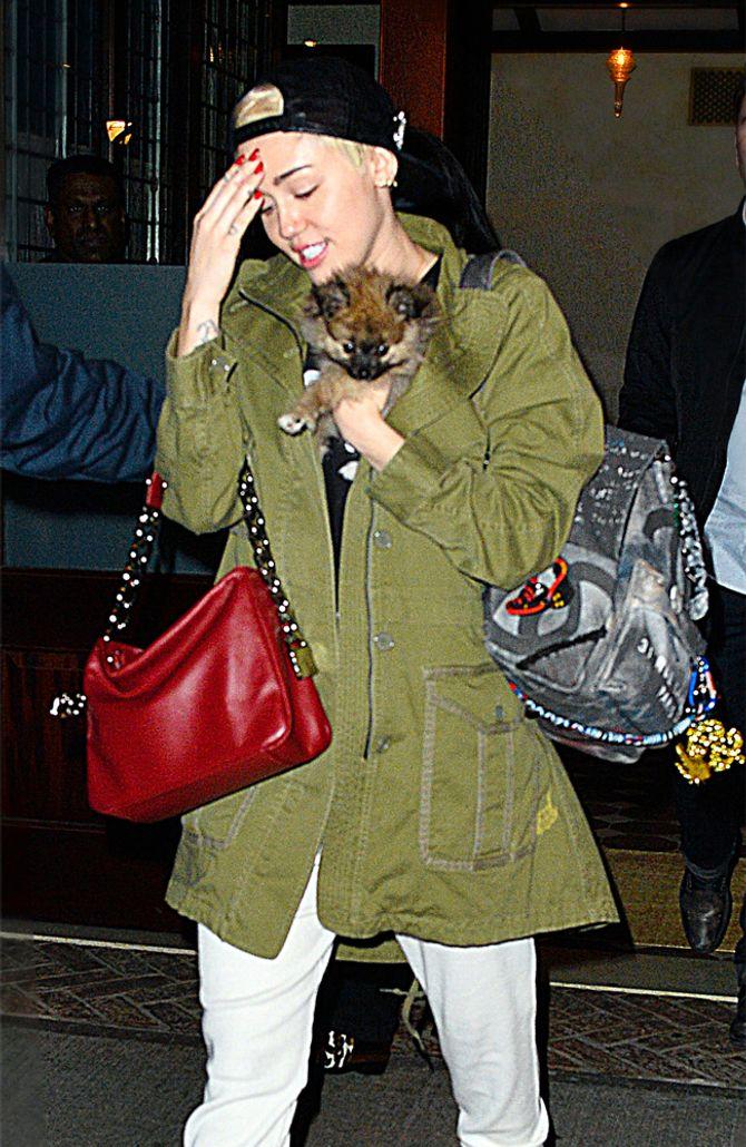 Miley Cyrus und Moonie