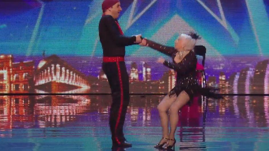 A 80 ans, cette danseuse de salsa a bluffé le jury de Britain's Got Talent ! (vidéo)