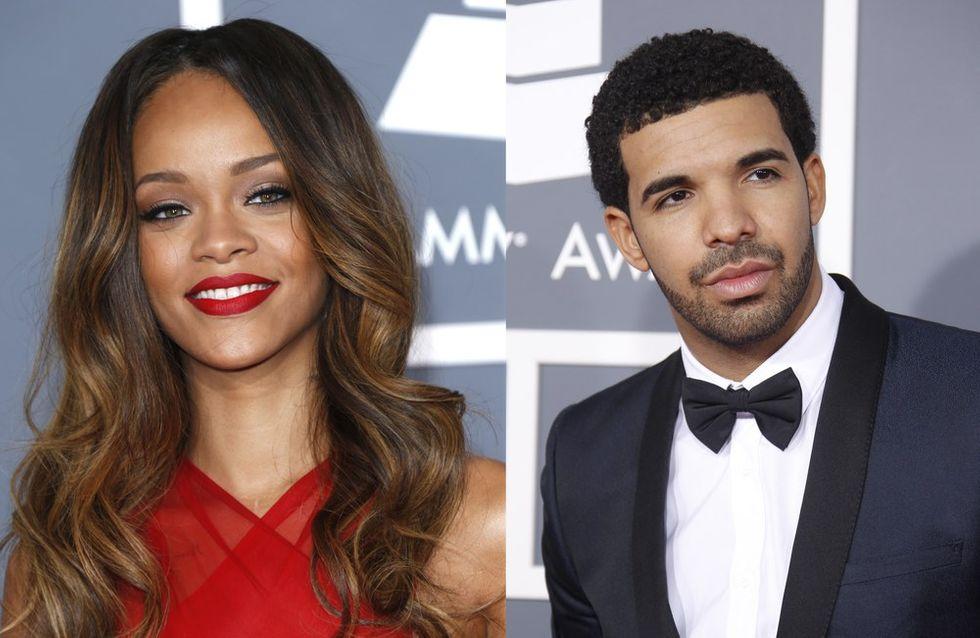 Rihanna : Un baiser avec Drake aux MTV Movie Awards (vidéo)
