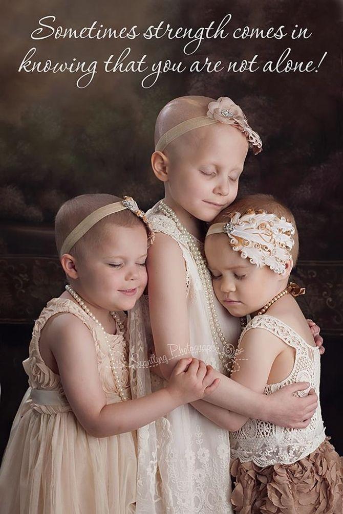 L'incroyable message de ces petites filles souffrant d'un cancer