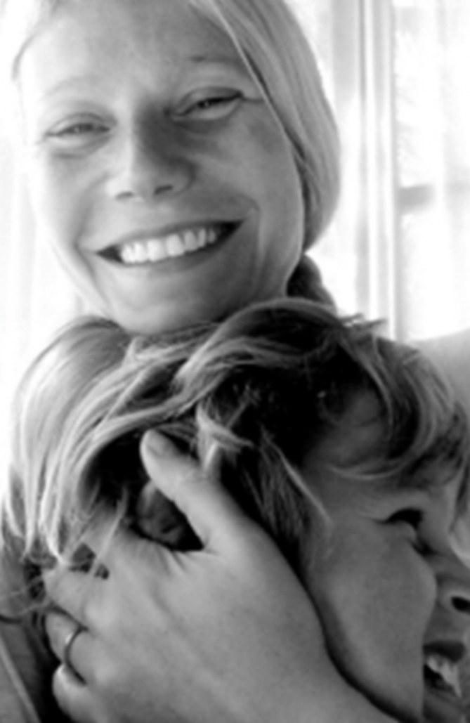Gwyneth Paltrow mit Sohn Moses