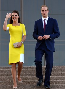 Kate Middleton et le prince William en Australie