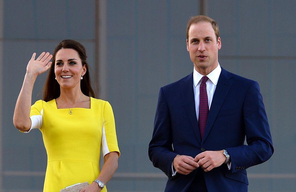 Kate Middleton : Un look rétrochic pour son arrivée en Australie