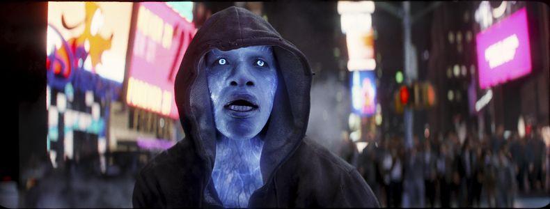 Jamie Foxx als 'Electro' in 'The Spiderman Spiderman 2'