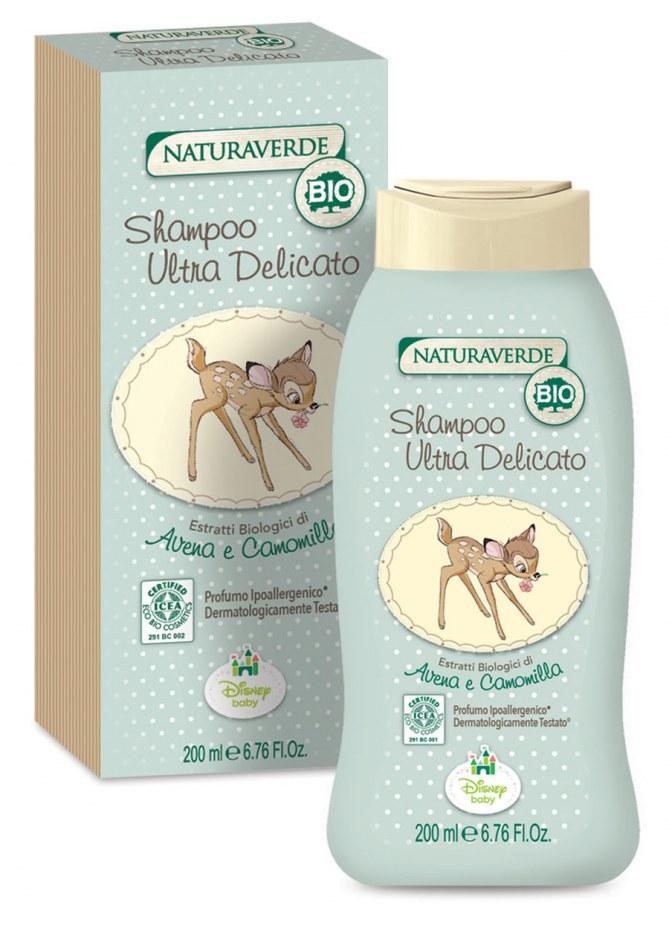 Shampoo Ultra Delicato Natura Verde - Prezzo: 5,90 euro