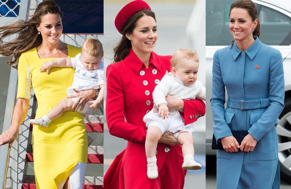 Kate Middleton : Les plus beaux looks de son voyage officiel