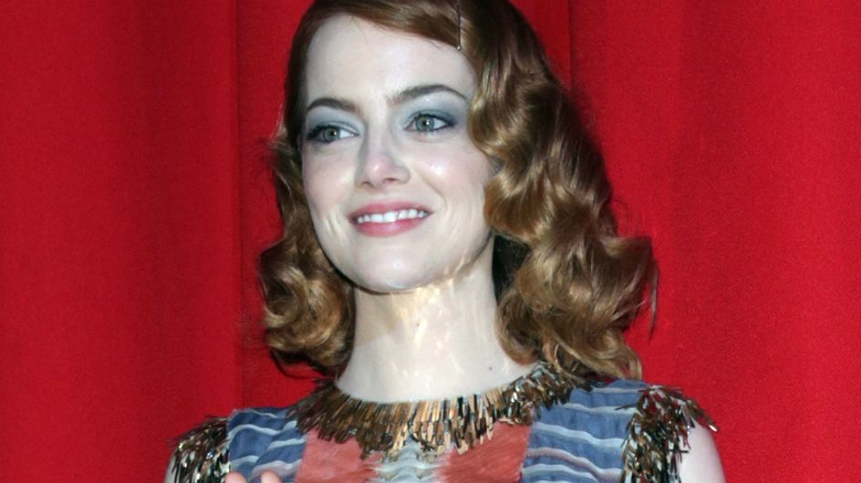 Emma Stone : Un look hippie-chic pour The Amazing Spider-Man 2 à Berlin