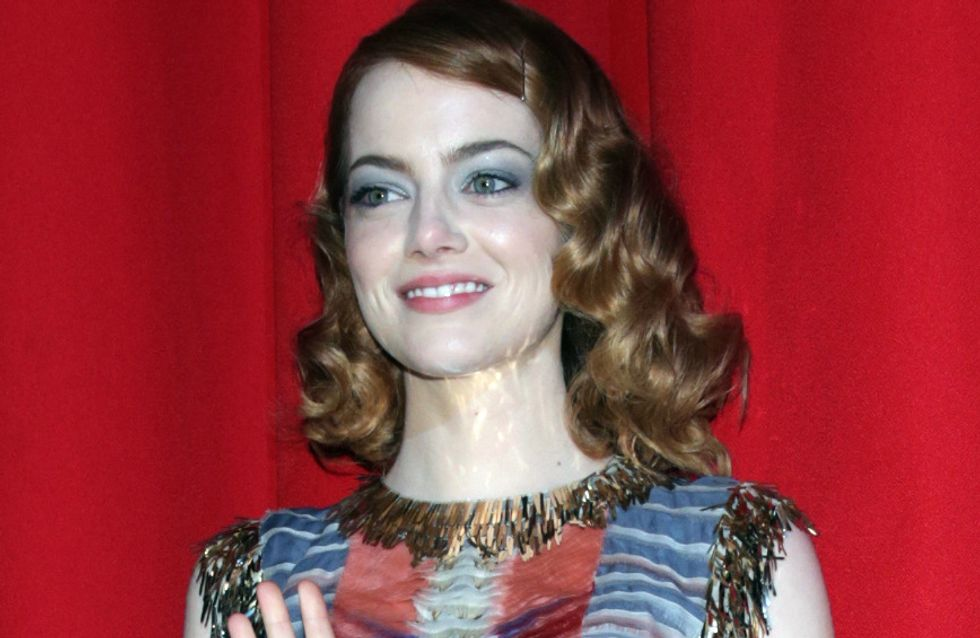 Emma Stone : Un look hippie-chic pour The Amazing Spider-Man 2 à Berlin