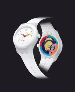 Montre automatique Sistem51 white - Swatch