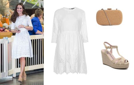 On copie le look so cute de Kate Middleton pour l'été