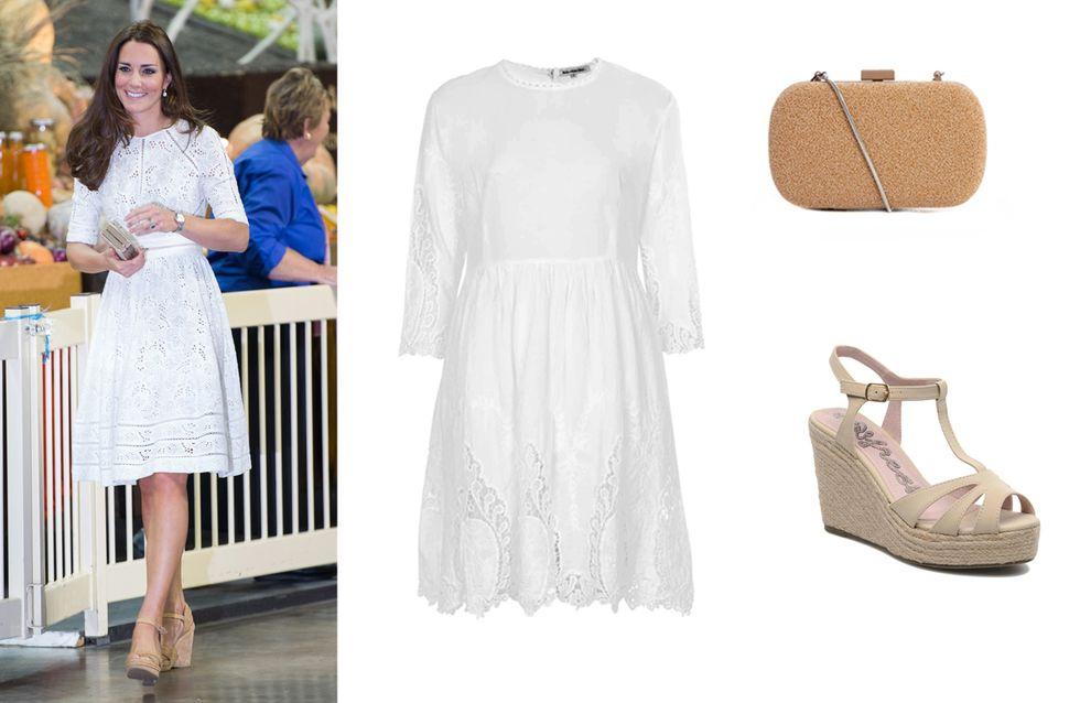 Kate Middleton : On copie son look so cute pour l'été