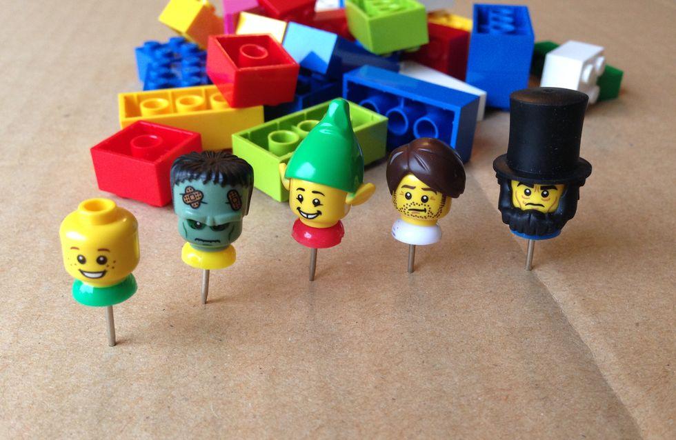 Des jolies punaises en LEGO® en 5 minutes chrono !