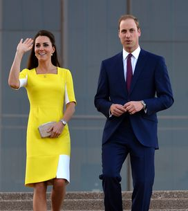 Le Prince William très ému devant le discours de Kate Middleton