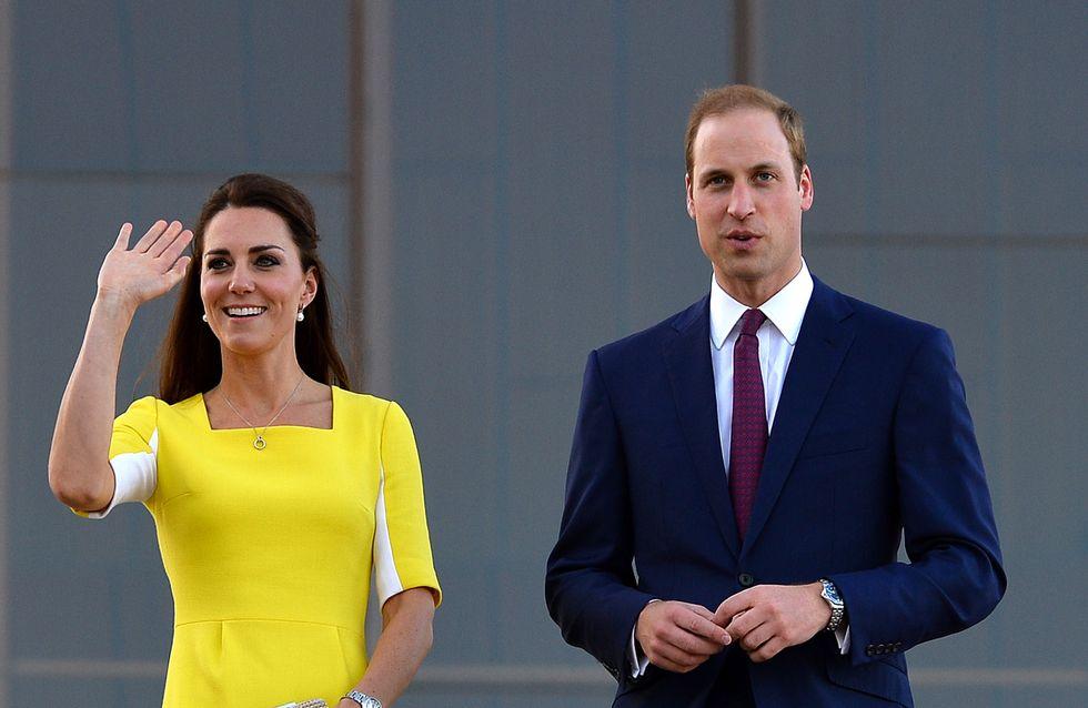 Le Prince William très ému devant le discours de Kate Middleton
