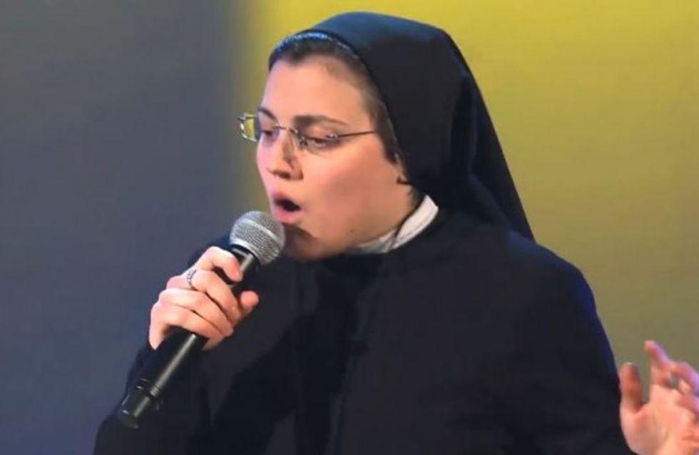 The Voice : Sœur Cristina continue d'enflammer l'Italie (Vidéo)