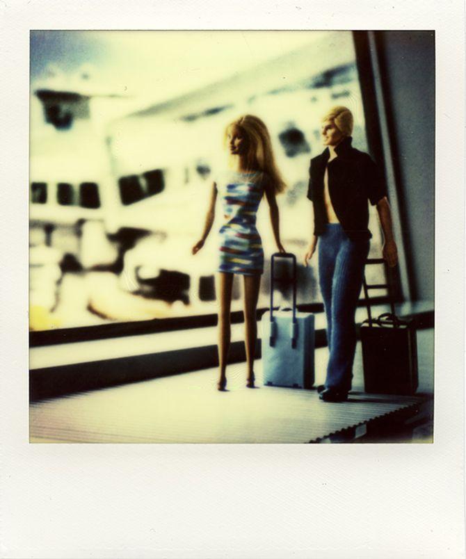 Barbie e Ken all'aereoporto
