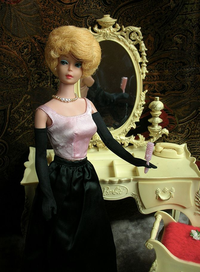 Barbie bubblecut 1964
