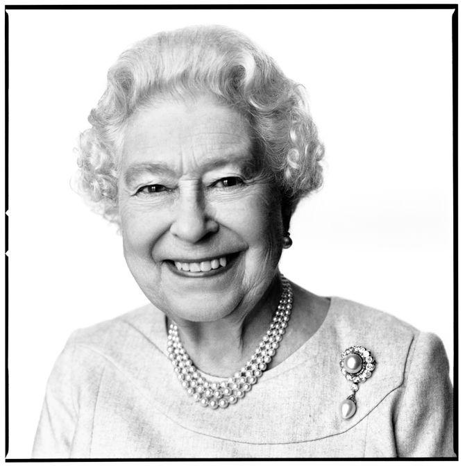 Le portrait d'Elizabeth II