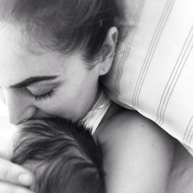 Melissa Satta con il piccolo Maddox Prince