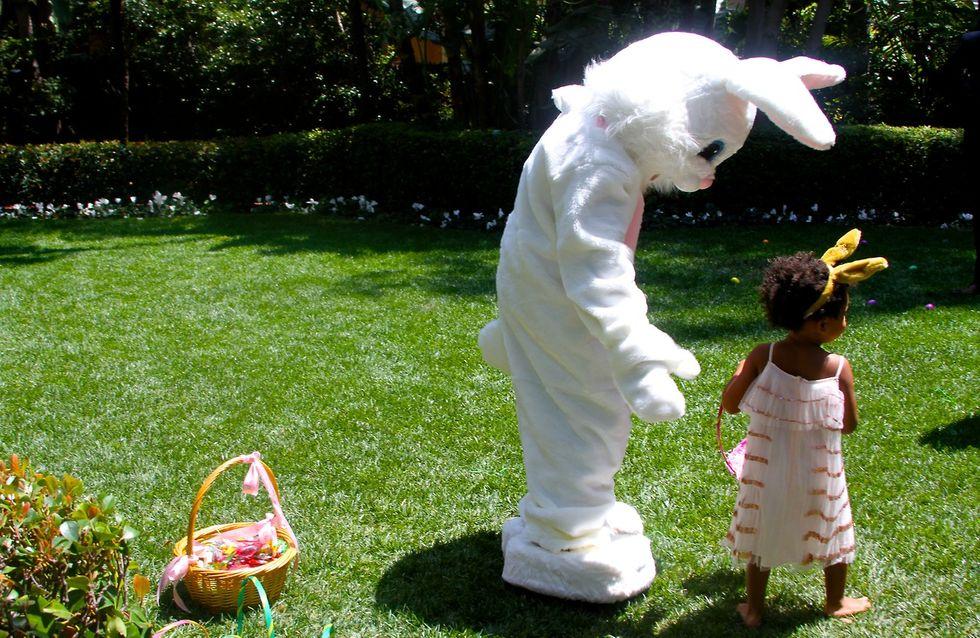 Beyoncé : Quand Blue Ivy rencontre le Lapin de Pâques (photos)
