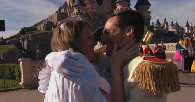 la demande en mariage la plus kitsch de tous les temps à Disneyland