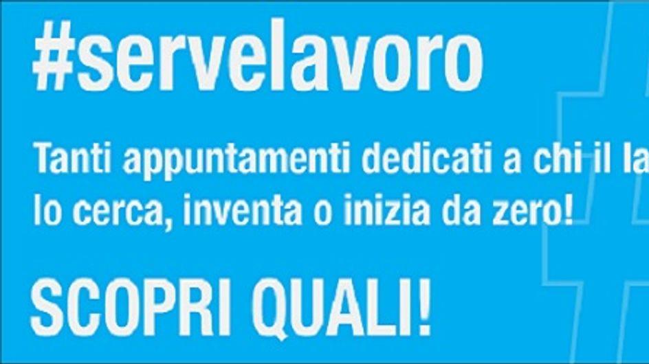 #Servelavoro, un evento dedicato ai giovani per combattere la crisi