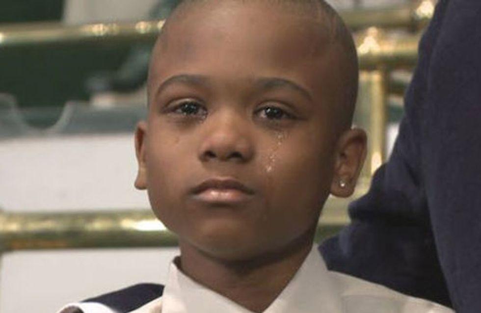 Ce garçon de 10 ans a chanté du gospel jusqu'à ce que son kidnappeur le relâche